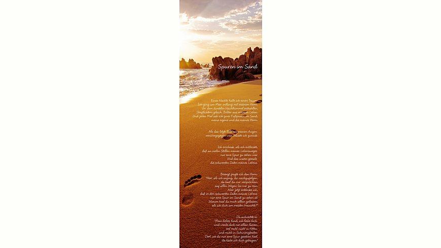 Bild, Home affaire, »Spuren im Sand«