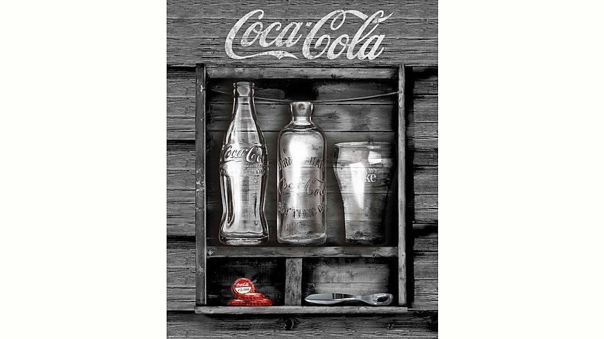 Home affaire, Deco Panel »Coca-Cola - black box«, 40/50 cm