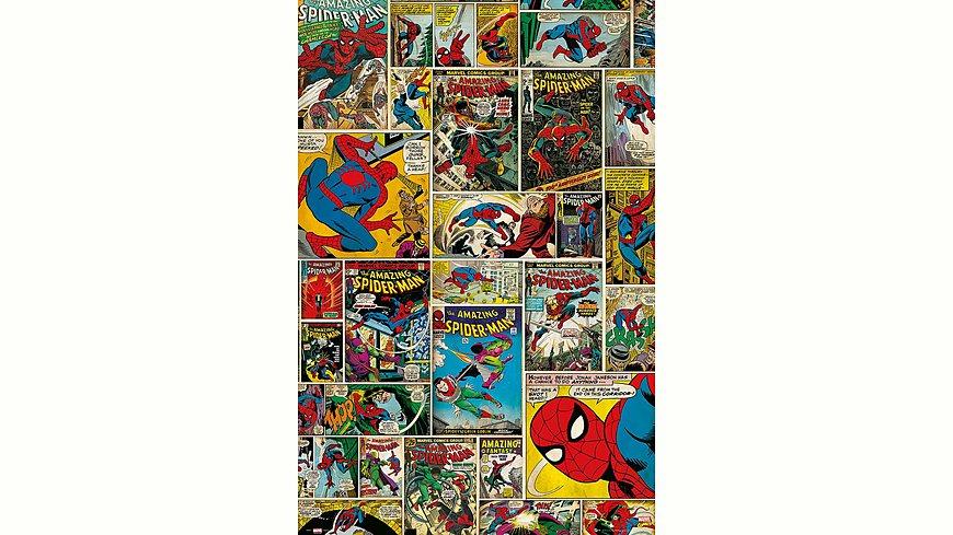 Home affaire, Deco Panel »Marvel - Spiderman Comic Covers«, 60/90 cm
