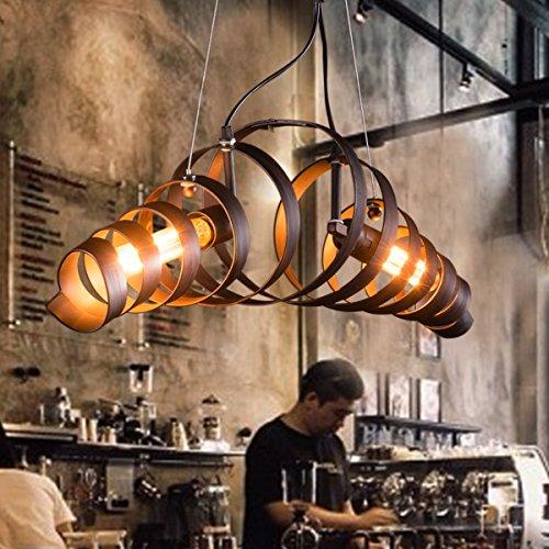 Pendelleuchte Retro bar Eisen-Lampe modernen minimalistischen industriellen Stil Kronleuchter