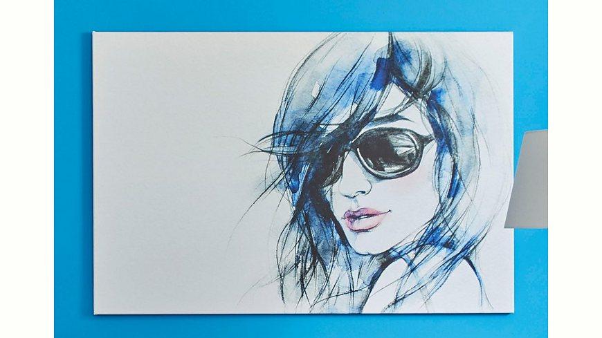 Premium collection by Home affaire Leinwandbild »I wear my sunglasses«, in 2 Größen