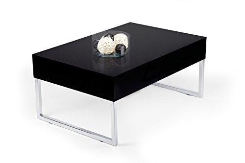 Tisch Couchtisch Schwarz hochglanz mod. EVO XL