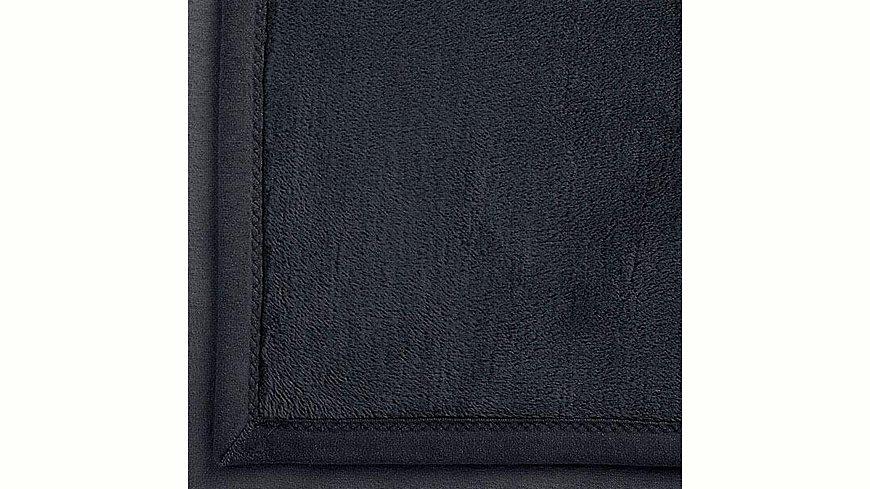 Wohndecke, Ibena, »Solare Organic Cotton«, unifarben
