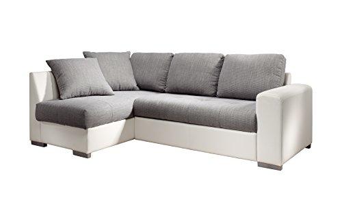 cotta m442661 c311d200 polsterecke mit schlaffunktion und bettkasten recamiere links kunstleder. Black Bedroom Furniture Sets. Home Design Ideas