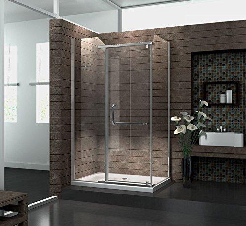 Duschkabine VITA 120 x 90 x 200 cm inkl. Duschtasse