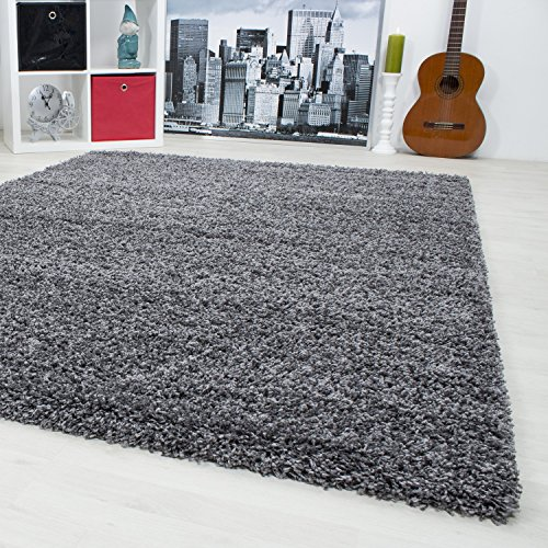 hochflor shaggy teppich langflor carpet wohnzimmer einfarbig rechteck rund teppiche ma e. Black Bedroom Furniture Sets. Home Design Ideas