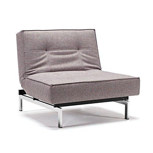 innovation istyle sessel splitback dessin dark grey m bel24. Black Bedroom Furniture Sets. Home Design Ideas