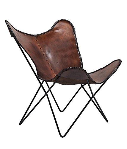 kare vintage sessel butterfly eco leder m bel24. Black Bedroom Furniture Sets. Home Design Ideas