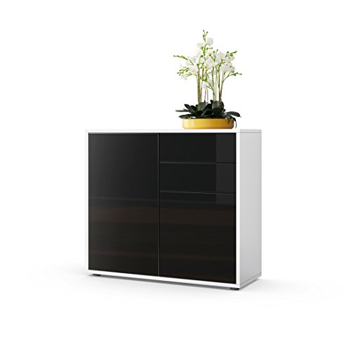 kommode sideboard ben korpus in wei matt fronten in. Black Bedroom Furniture Sets. Home Design Ideas
