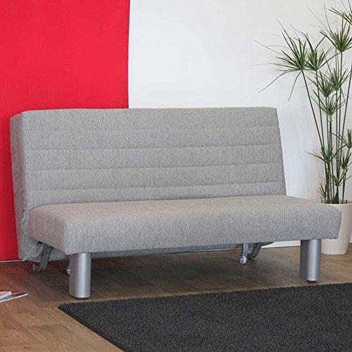 schlafsofa grau axo breite 120 cm sitzpl tze 2 sitzpl tze pharao24 m bel24. Black Bedroom Furniture Sets. Home Design Ideas