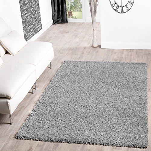 shaggy teppich hochflor langflor teppiche wohnzimmer preishammer versch farben farbe grau. Black Bedroom Furniture Sets. Home Design Ideas