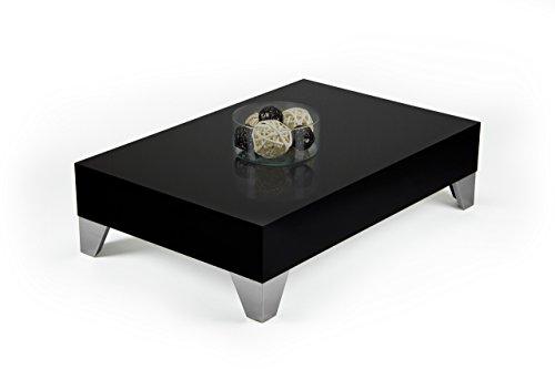 tisch couchtisch beistelltisch kaffeetisch wohnzimmertisch schwarz hochglanz ev9 m bel24. Black Bedroom Furniture Sets. Home Design Ideas