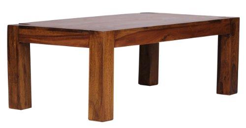 wohnling couchtisch massiv holz sheesham 110 cm breit wohnzimmer tisch design dunkel braun. Black Bedroom Furniture Sets. Home Design Ideas
