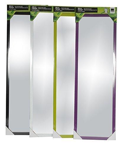 Wand- und Tür Spiegel Wandspiegel Türspiegel Hängespiegel Rahmenspiegel Garderobenspiegel (Lila)