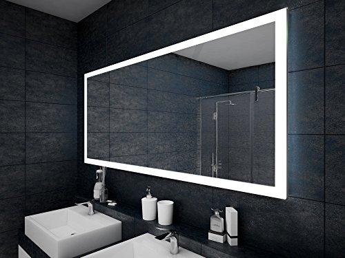 Design badspiegel mit led beleuchtung wandspiegel for Spiegel bad design