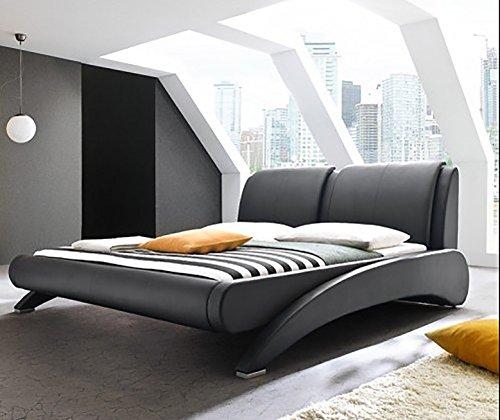 doppelbett polsterbett bettgestell bett lattenrost. Black Bedroom Furniture Sets. Home Design Ideas