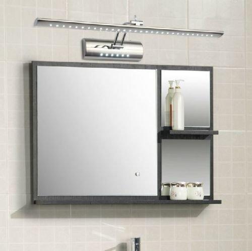hengda led spiegelleuchte spiegellampe badleuchte wandleuchte bilderlampe av85 220v dual. Black Bedroom Furniture Sets. Home Design Ideas