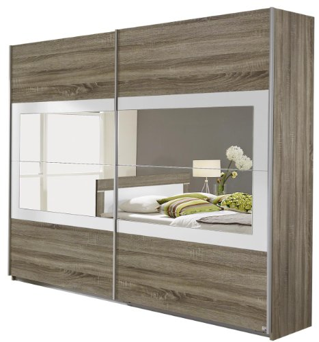 rauch schwebet renschrank venlo 2 t rig 271 x 210 x 62 cm dekor druck eiche. Black Bedroom Furniture Sets. Home Design Ideas
