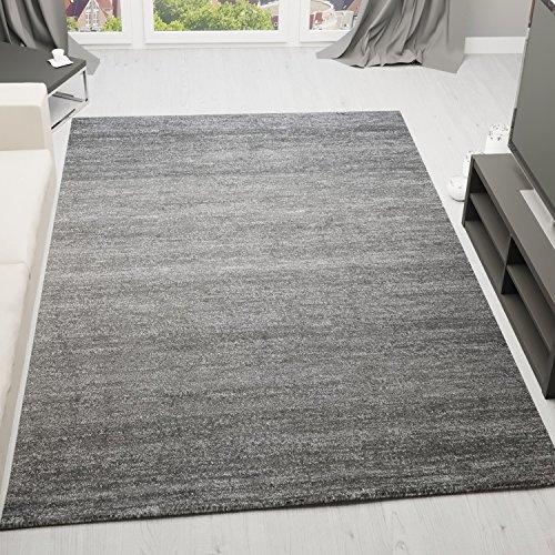 VIMODA viva6824 moderner Kurzflor Teppich Melliert, Ökotex Zertifiziert, Farbechtheit, Pflegeleicht