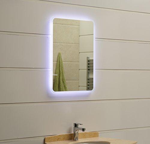 modernes lichtspiegel wandspiegel badspiegel gs045n mit. Black Bedroom Furniture Sets. Home Design Ideas