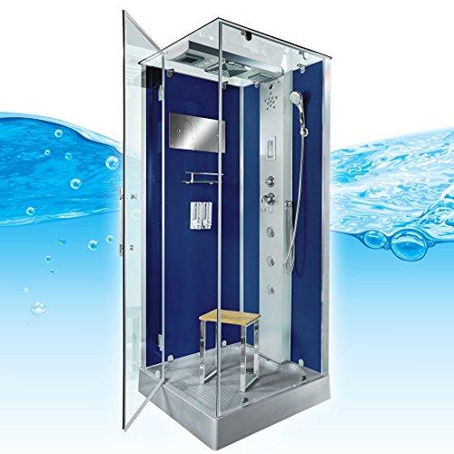 AcquaVapore DTP6038-3200L Dusche Duschtempel Komplett Duschkabine 90x90