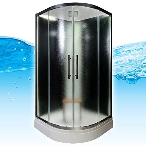 AcquaVapore QUICK16-0310 Dusche Duschtempel Komplette Duschkabine 80x80