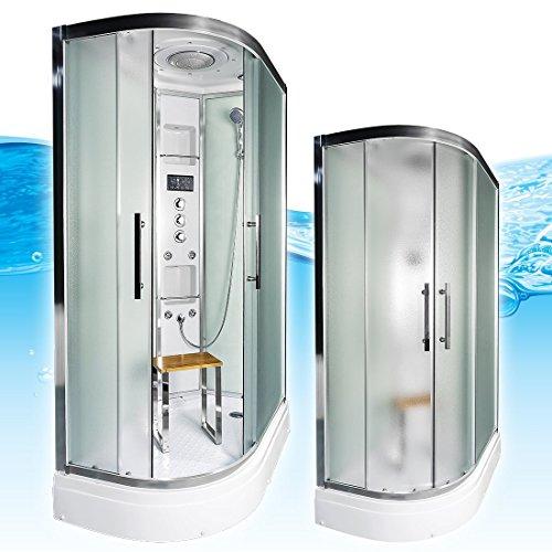 AcquaVapore QUICK26-7015L Dusche Duschtempel Komplette Duschkabine -Th 120x80