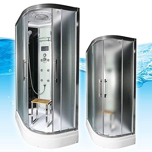 acquavapore quick26 7311r dusche duschtempel komplette duschkabine th 80x120 m bel24. Black Bedroom Furniture Sets. Home Design Ideas