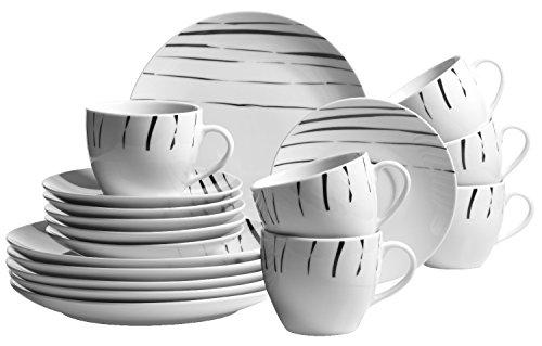 Domestic by Mäser, Serie Mandira, Kaffeeservice  steht für Klassik und Extravaganz
