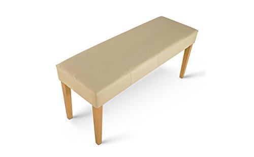 sam esszimmer design sitzbank enzio 3 in creme farben mit buche farbigen beinen aus pinienholz. Black Bedroom Furniture Sets. Home Design Ideas