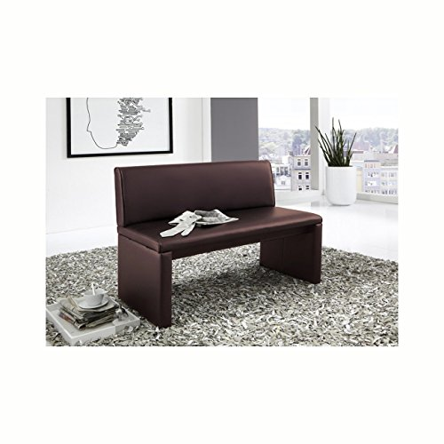 sam esszimmer sitzbank family brown in braun 120 cm breite sitzbank mit pflegeleichtem samolux. Black Bedroom Furniture Sets. Home Design Ideas