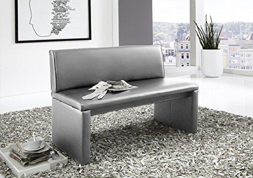 sam esszimmer sitzbank family hilton in hellgrau sitzbank mit r ckenlehne aus samolux bezug. Black Bedroom Furniture Sets. Home Design Ideas