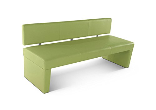 sam esszimmer sitzbank sesto 200 cm in lemon green sitzbank mit r ckenlehne aus samolux. Black Bedroom Furniture Sets. Home Design Ideas