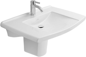 villeroy boch waschtisch lifetime 517470 700x535mm wei alpin 51747001 m bel24. Black Bedroom Furniture Sets. Home Design Ideas