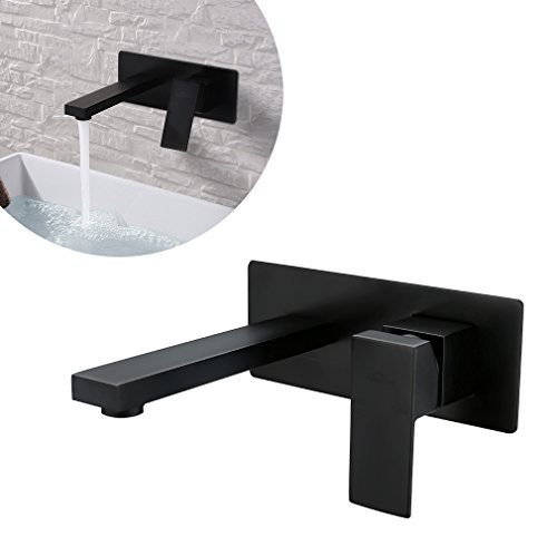auralum orb schwarz wandarmatur wandmontage unterputz. Black Bedroom Furniture Sets. Home Design Ideas
