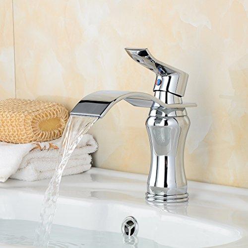 bonade einhebel waschtischarmaturen wasserfall wasserhahn. Black Bedroom Furniture Sets. Home Design Ideas