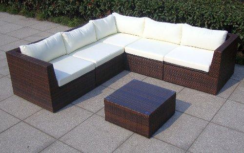 Baidani Design Rattan Lounge Garnitur Surprise