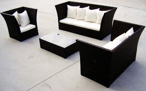 Baidani Rattan Lounge-Garnitur, 15-teilig, Lifestyle