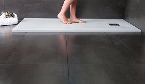 designer duschtasse mineralguss duschtasse 90 x 120 stone wei m bel24. Black Bedroom Furniture Sets. Home Design Ideas