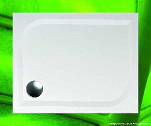 duschwanne 100x80 mineralguss mineralgussbecken 90x100. Black Bedroom Furniture Sets. Home Design Ideas