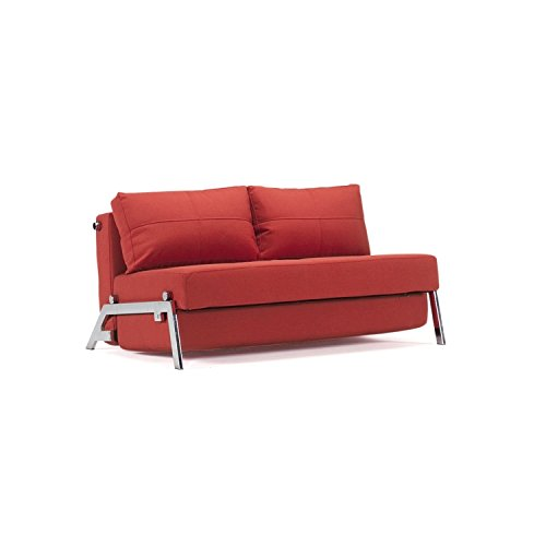 Innovation schlafsofa cubed deluxe schlafcouch for Schlafcouch rot