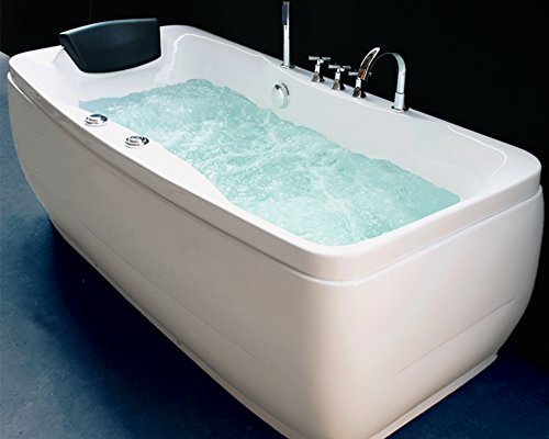 "Luxus4Home Design Whirlpool ""Gloria"" exklusiv 172 x 62 x 80 cm"