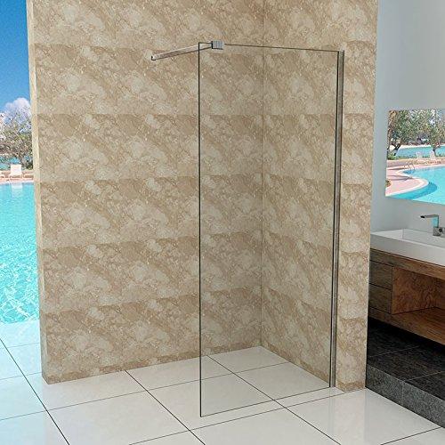 walk in duschtrennwand 10mm esg glas 30 140 cm m bel24. Black Bedroom Furniture Sets. Home Design Ideas