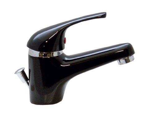 Waschtischarmatur Waschbecken Wasserhahn Bad Armatur Schwarz