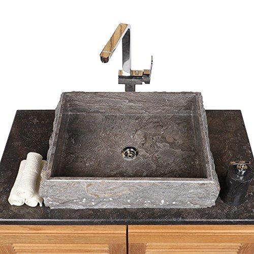 Wohnfreuden naturstein marmor aufsatz waschbecken for Aufsatzwaschbecken naturstein