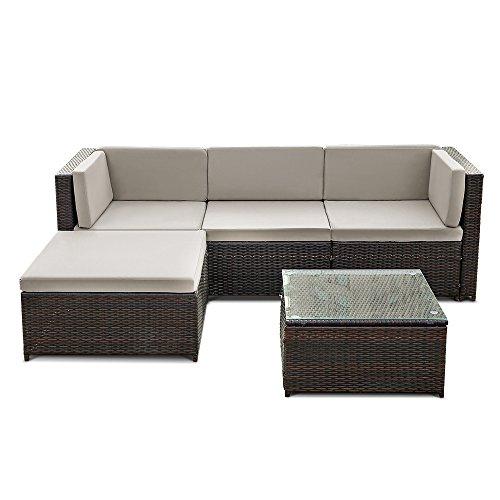 ikayaa rattan lounge set loungem bel loungeset loungegruppe 3 farbe optional m bel24. Black Bedroom Furniture Sets. Home Design Ideas