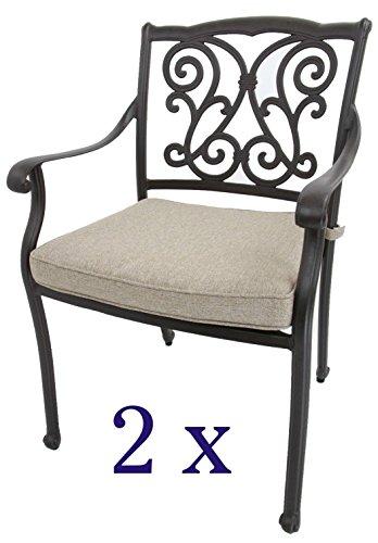 Gartenstühle, Aluguss