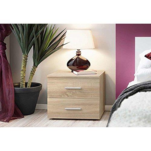 Just home VICKY Nachttisch Nachtkonsole Nachtschrank (HxBxT): 40x50x40 cm mit Farbauswahl