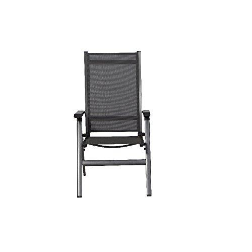 mwh 879308 elements klappsessel anthrazitanthrazit alu gestell textilgewebe 0 m bel24. Black Bedroom Furniture Sets. Home Design Ideas