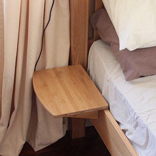 Nachttisch Nachtschrank, Nachtkonsole Regal aus Bambus